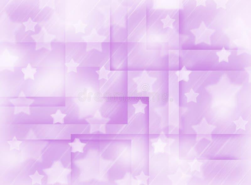 Vage roze achtergrond met sterren Abstractie Het thema van Kerstmis royalty-vrije stock fotografie