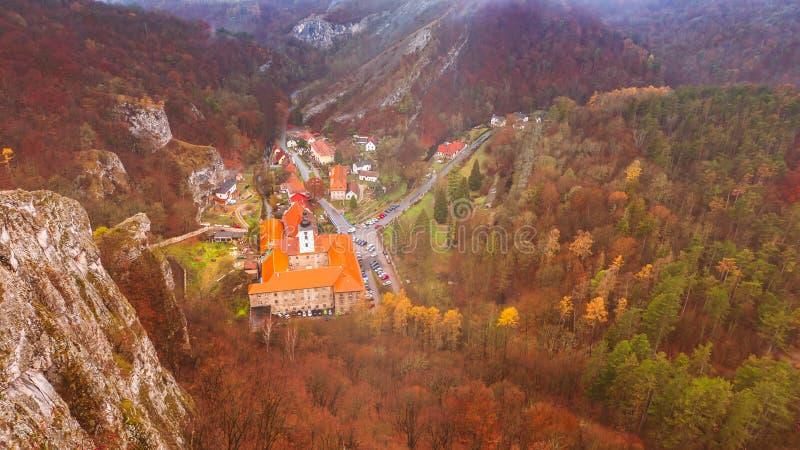 Vagem Skalou de Svaty janeiro da vila foto de stock royalty free