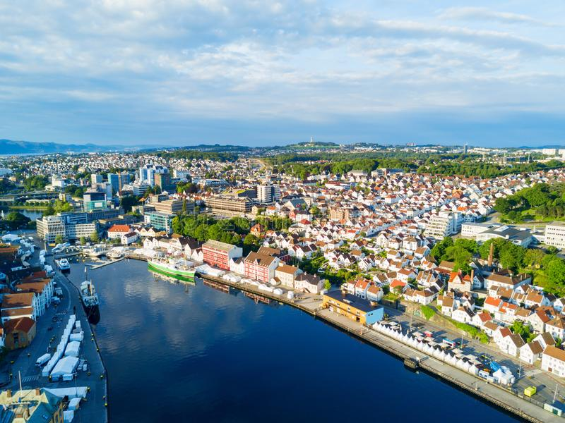 Vagen in Stavanger, Norway royalty free stock photo