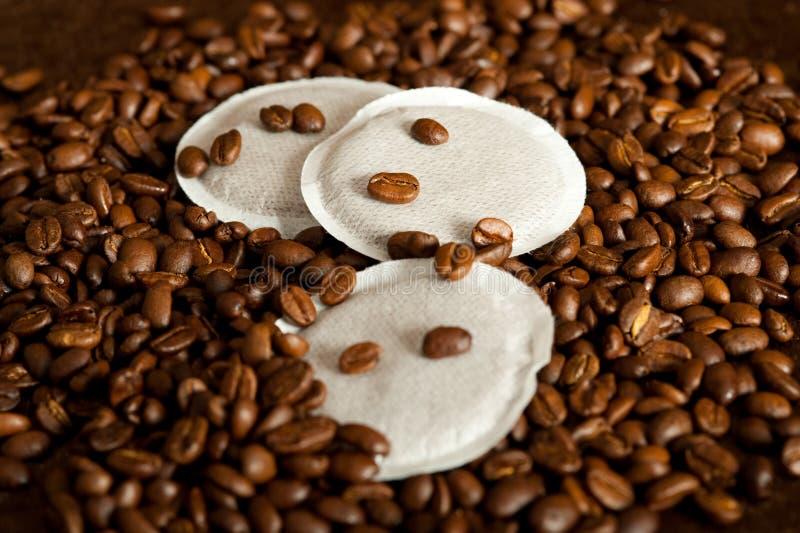 Vagens do café fotografia de stock