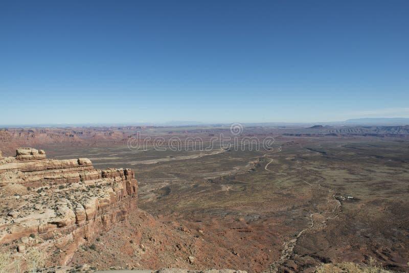 Vagga öknen, Utah royaltyfria bilder