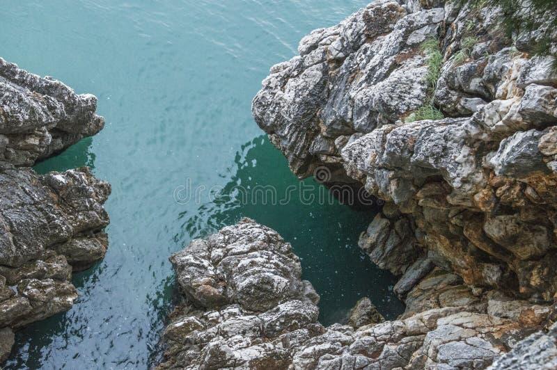 Vagga (Adriatiskt hav) royaltyfri foto