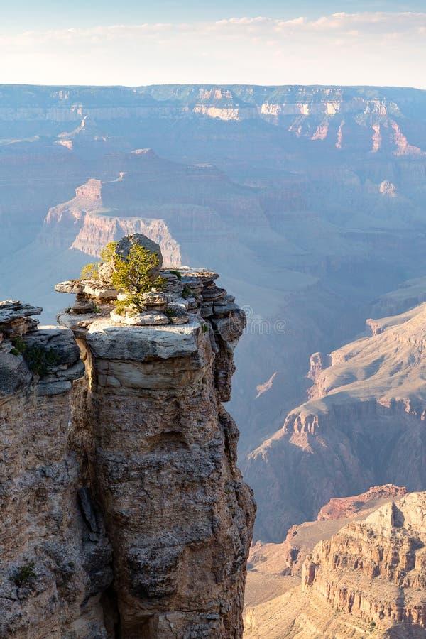 Vagga bildande i den Grand Canyon nationalparken från den södra kanten arkivfoto