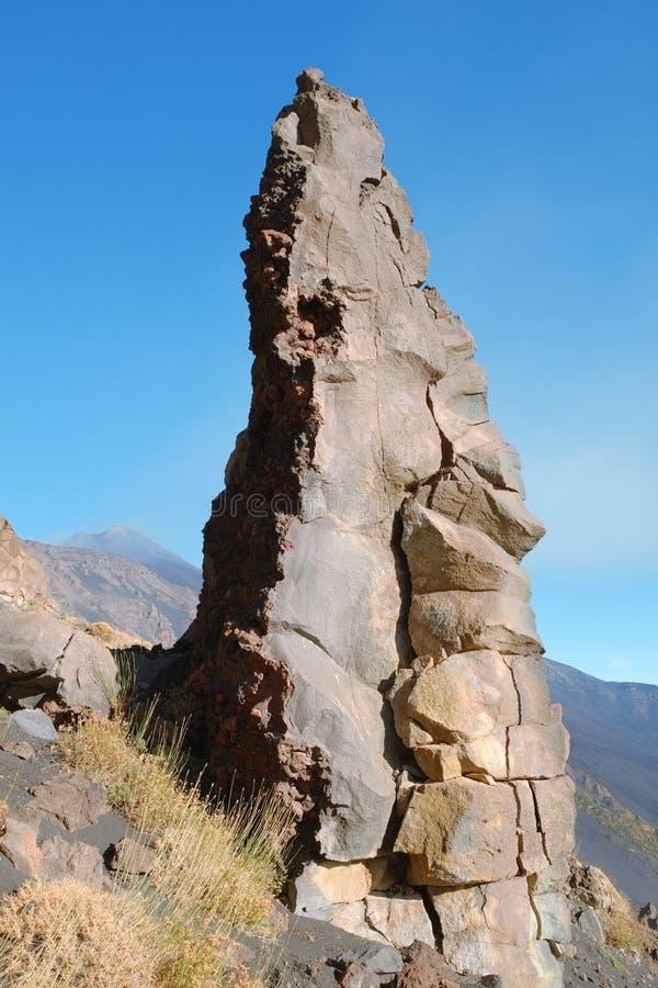 Vagga bildande i Etna National Park, Sicilien fotografering för bildbyråer