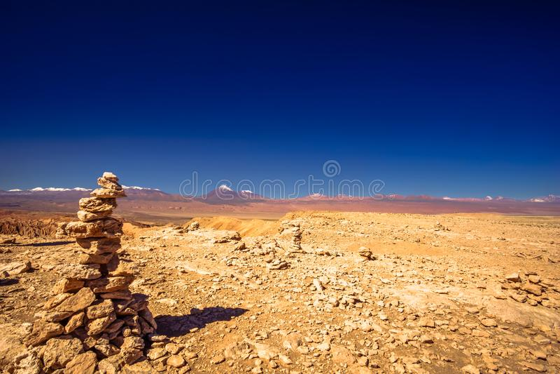 Vagga bildande i månedalen av San Pedro de Atacama royaltyfri foto