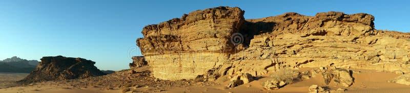 Vagga bildande i Wadi Rum arkivfoto
