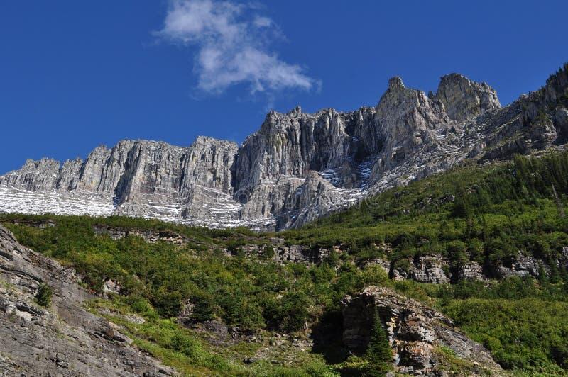 Vagga bildandeglaciärnationalparken arkivfoto