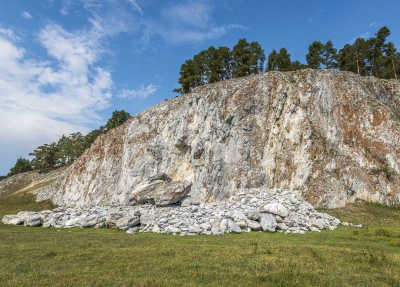 Vagga den Arsky stenen fotografering för bildbyråer