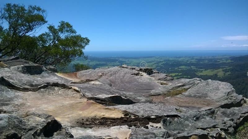Vagga framsidautkikpunkt NSW royaltyfri foto