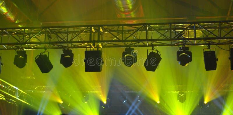 Vagga konserten arkivfoto