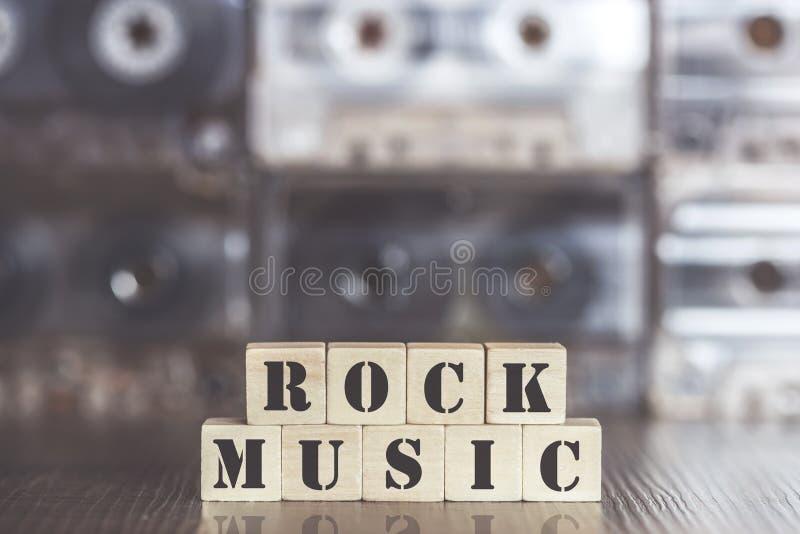 Vagga musikbegreppet arkivbild