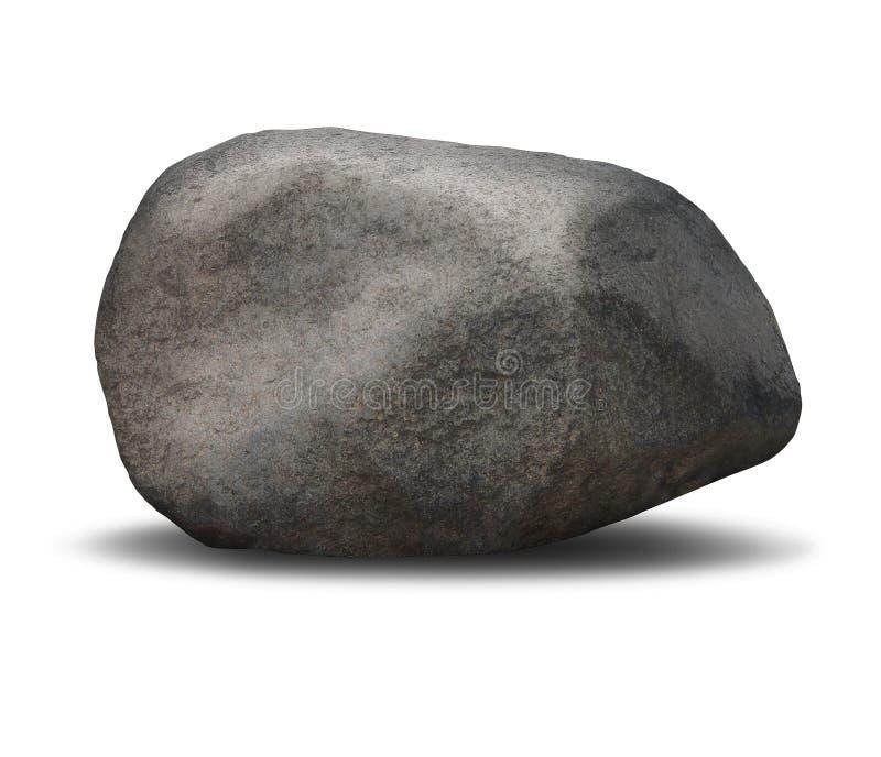 Vagga stenblocket royaltyfria bilder