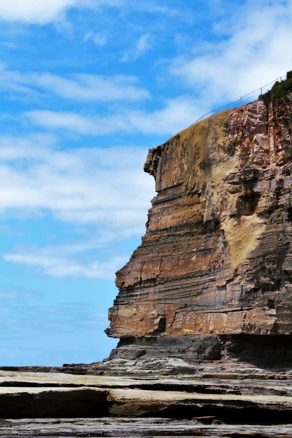 Vagga stranden @ Terrigal, Australien royaltyfria bilder