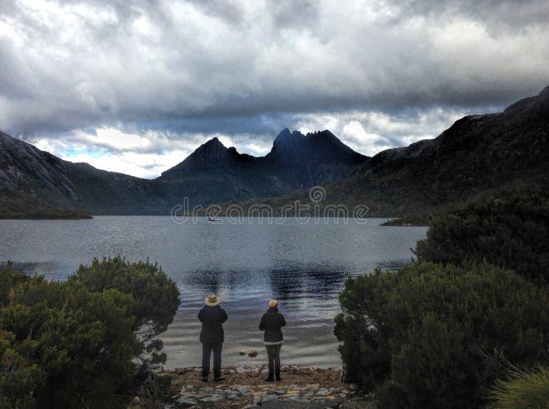 vaggaberg tasmania royaltyfria bilder