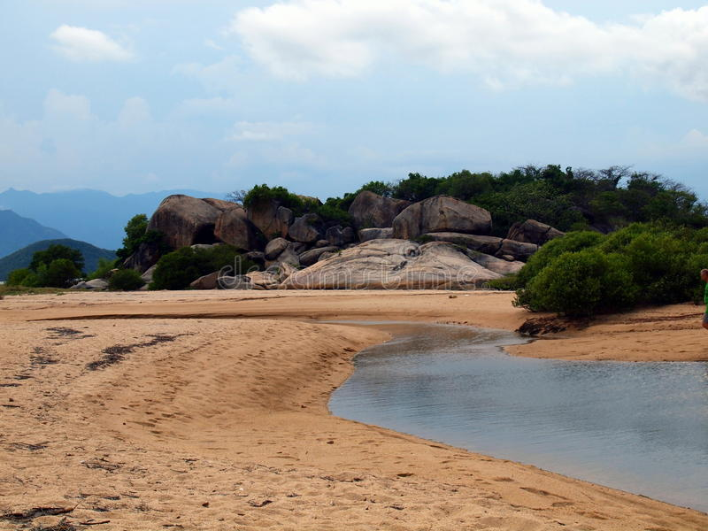 Vaggar av ön Che arkivbilder