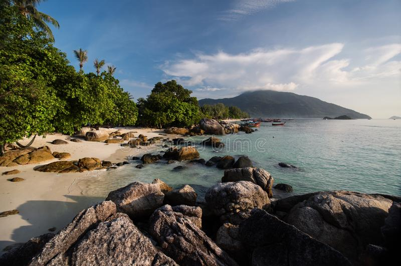 Vaggar Koh Lipe Island - Thailand, arkivfoto