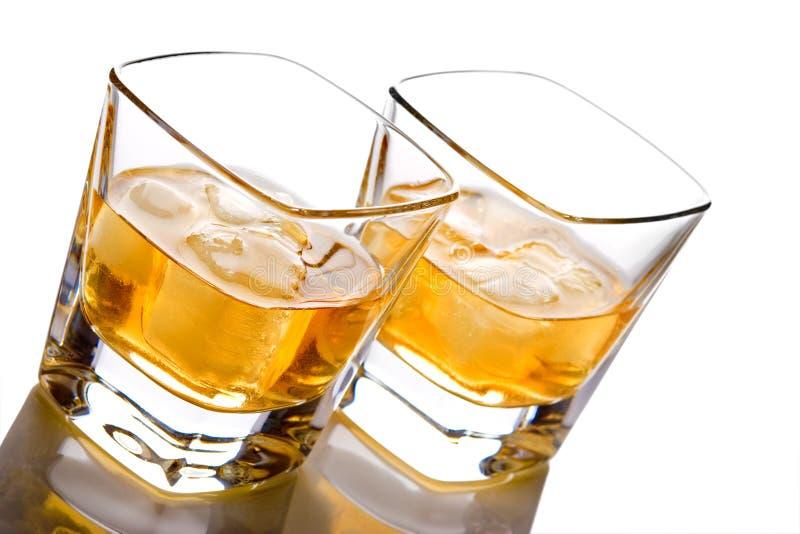 vaggar whiskey arkivbild