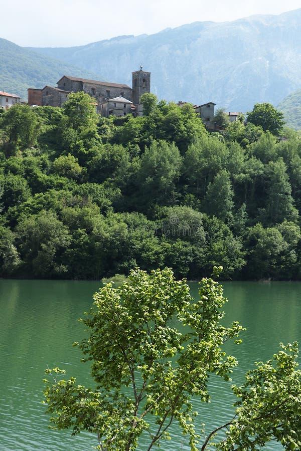 Vagli di Sotto, Garfagnana, Lucques, Toscane l'Italie photographie stock