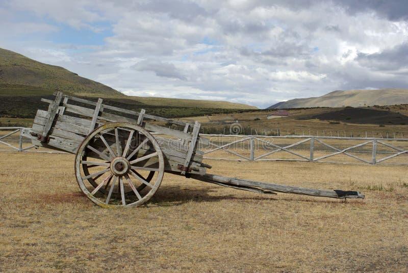 Vagn i Chile arkivfoto