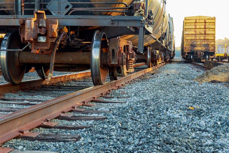 vagnar för laststationsdrev royaltyfri bild