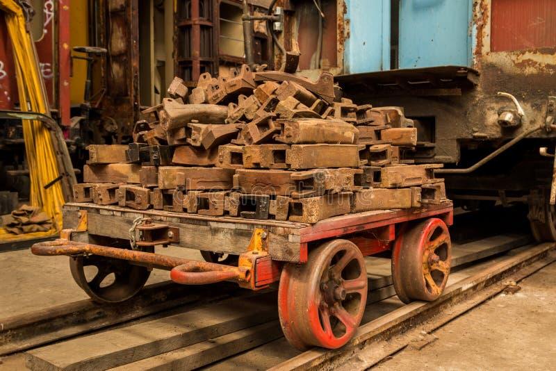 Vagnsammanlänkningar arkivbilder