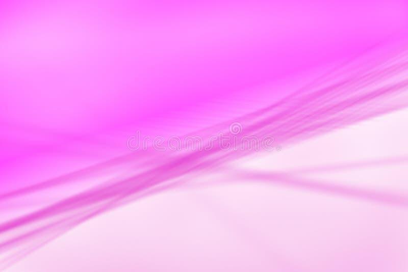 Vago, la porpora di defocus, linee rosa gradisce il fondo - illustrazione fotografie stock libere da diritti