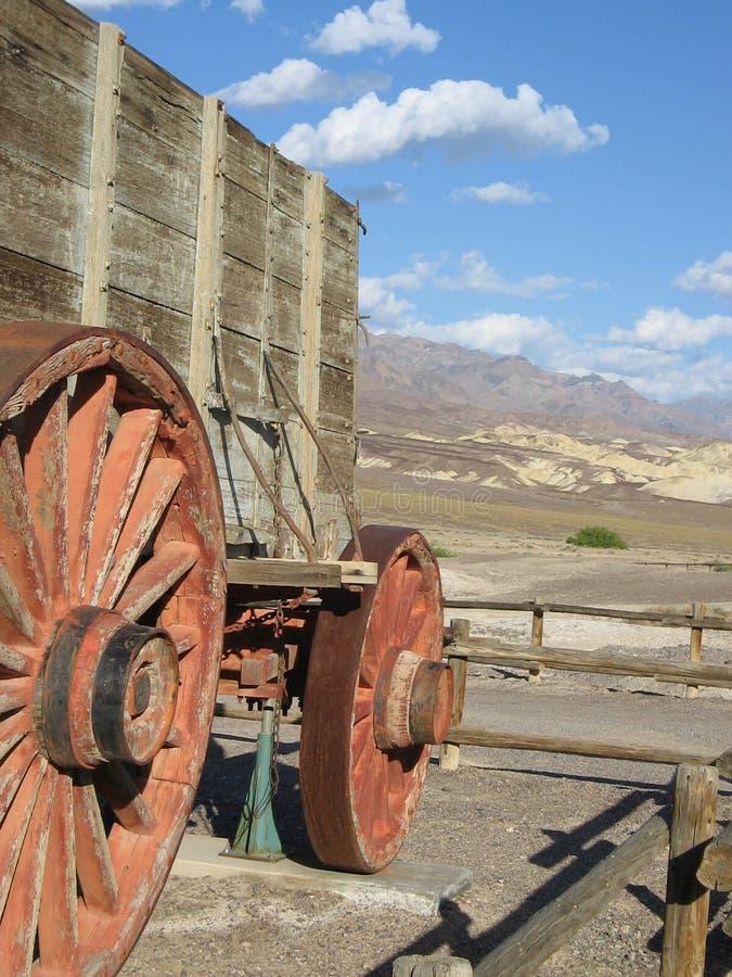 Vagone del Death Valley immagini stock libere da diritti