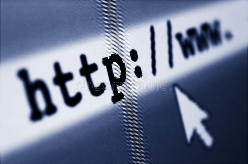 Vague déferlante d'Internet photos libres de droits