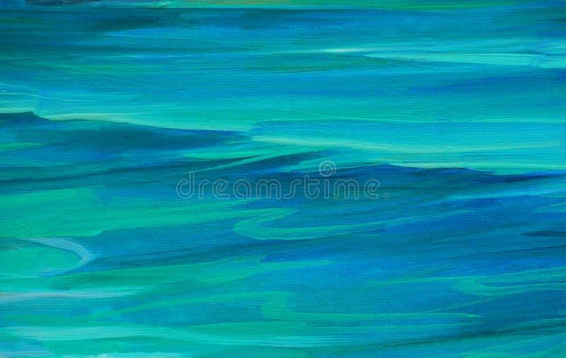 Vague d'eau de mer de turquoise, fond photo stock