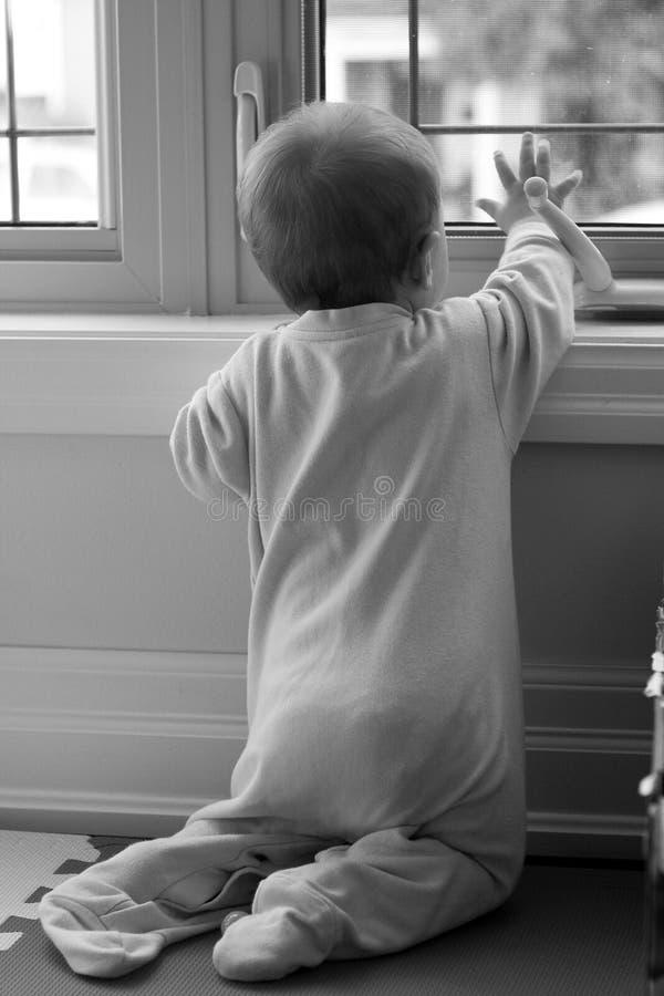 Vague la fenêtre photographie stock libre de droits