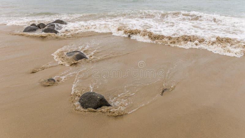 Vagues de l'Océan Atlantique photographie stock libre de droits