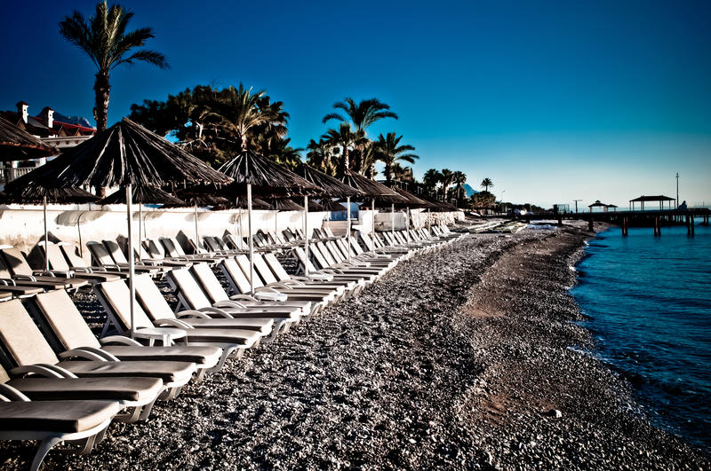 Vagues de plage photo libre de droits