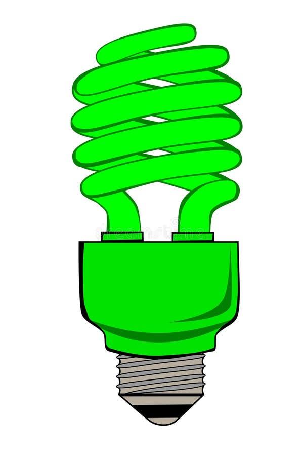 Vai a luz verde ilustração royalty free