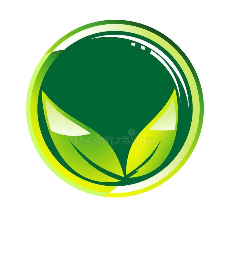 Vai o backgroud verde do conceito ilustração stock