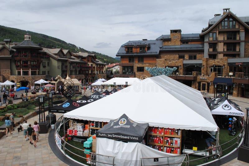 Vail, Colorado stock foto's