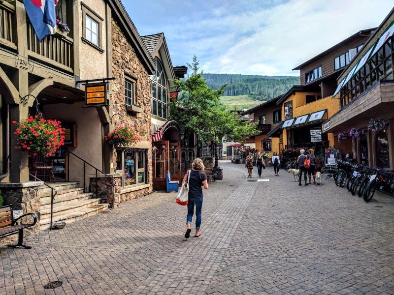 Vail Colorado fotografia de stock royalty free