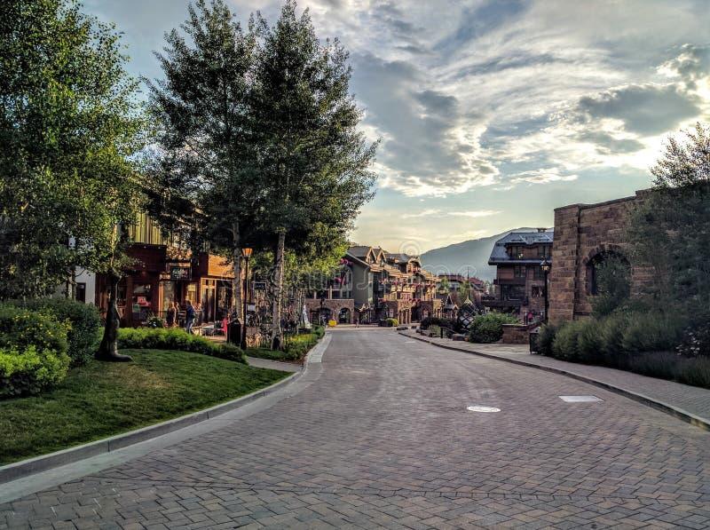 Vail Colorado imagenes de archivo