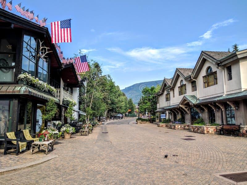 Vail Colorado foto de stock royalty free