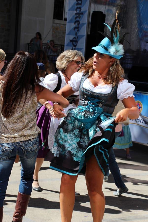 VAIL, COLORADO, de V.S. - 10 September, 2016: Jaarlijkse viering van Duitse cultuur, voedsel en drank stock foto