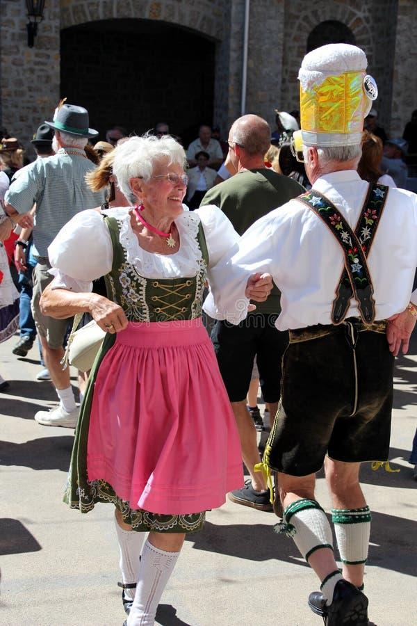VAIL, COLORADO, de V.S. - 10 September, 2016: Jaarlijkse viering van Duitse cultuur, voedsel en drank royalty-vrije stock fotografie