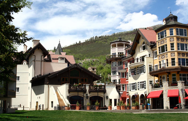Vail, le Colorado photographie stock