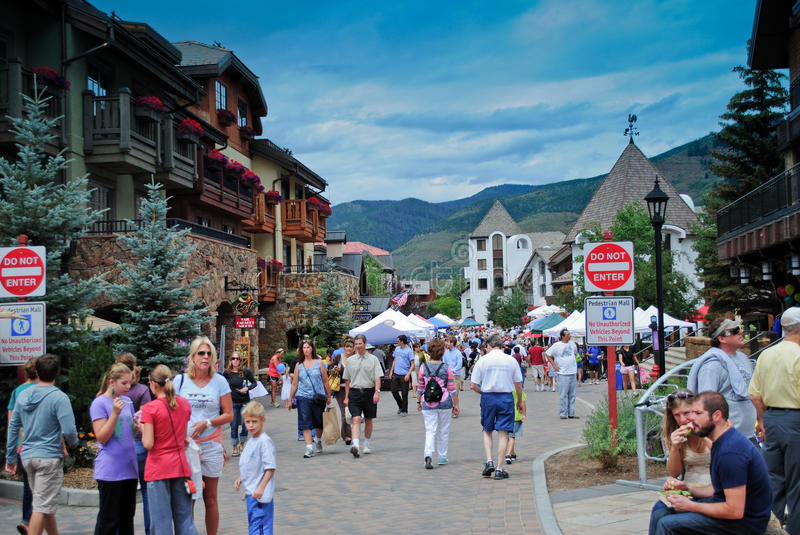 Vail, le Colorado photos libres de droits