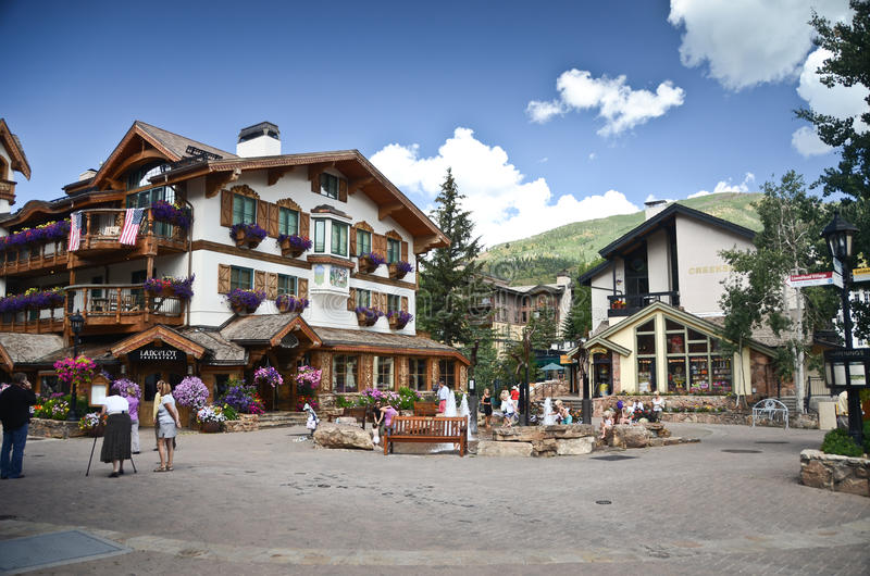 Vail, le Colorado images libres de droits