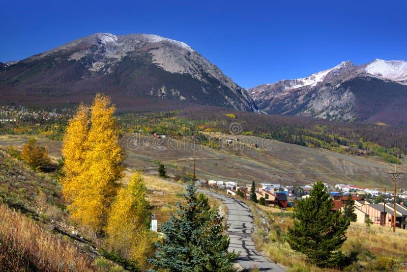 Vail le Colorado photos libres de droits