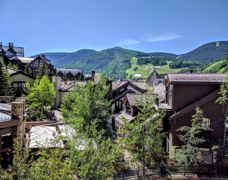 Vail le Colorado photo libre de droits
