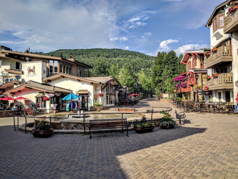 Vail le Colorado photo stock