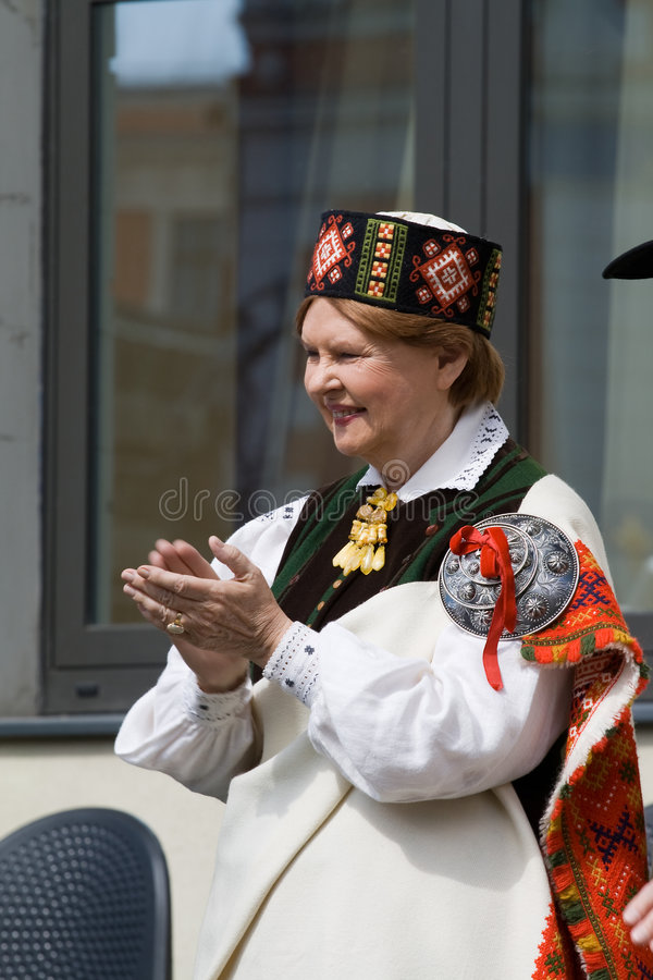 Vaira Vike-Freiberga - Ex-President Of The Republi Editorial Stock Photo