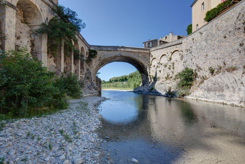 Vaison-Ла-Romaine - Воклюз - Провансаль - Франция стоковое фото rf