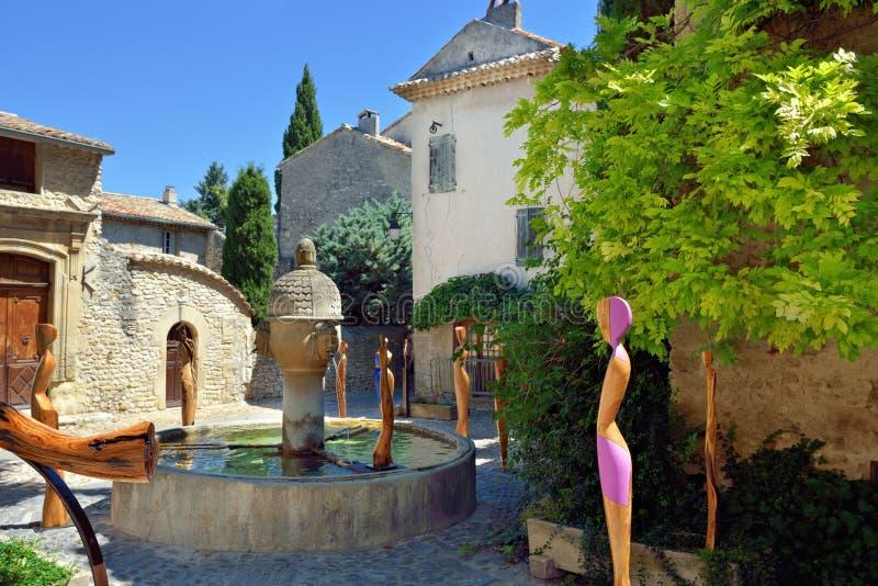 Vaison labindsallat, Provence royaltyfria bilder