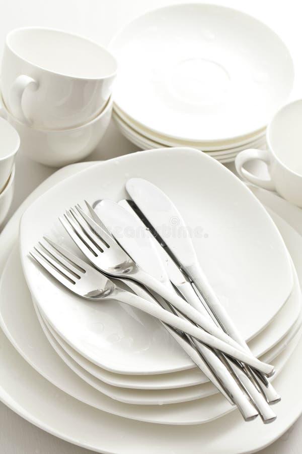 Vaisselle, Cuisine Photo libre de droits